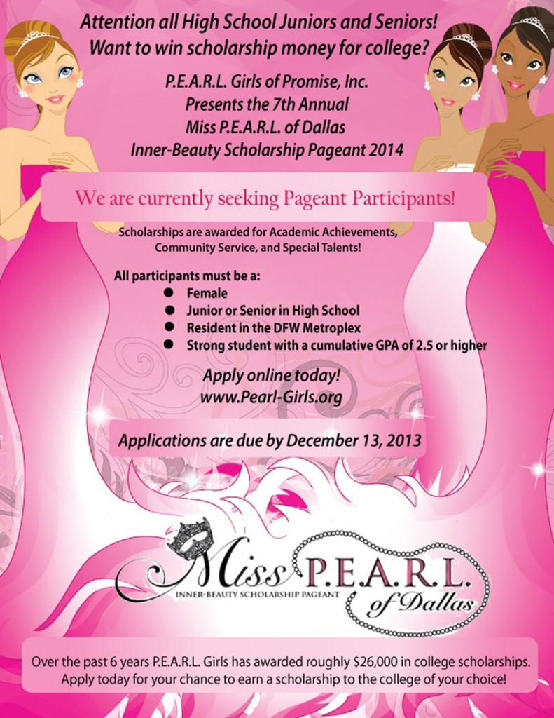 Miss PEARL of Dallas_Pageant Recruitment Flyer_FINAL