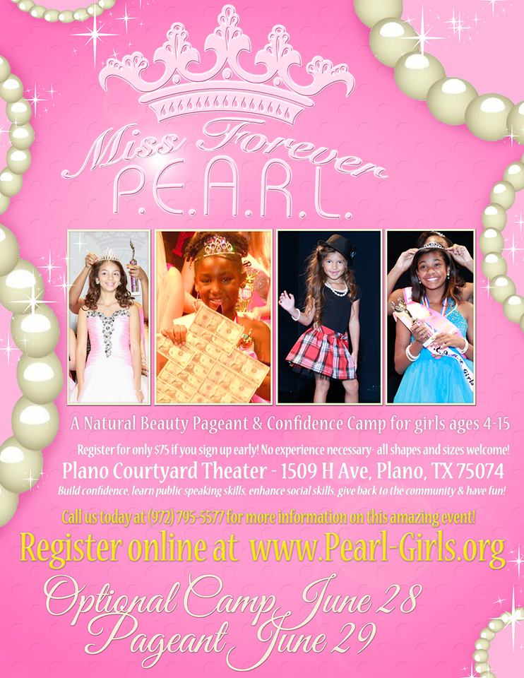 Flyer for June 2014 Pageant _Miss Forever PEARL